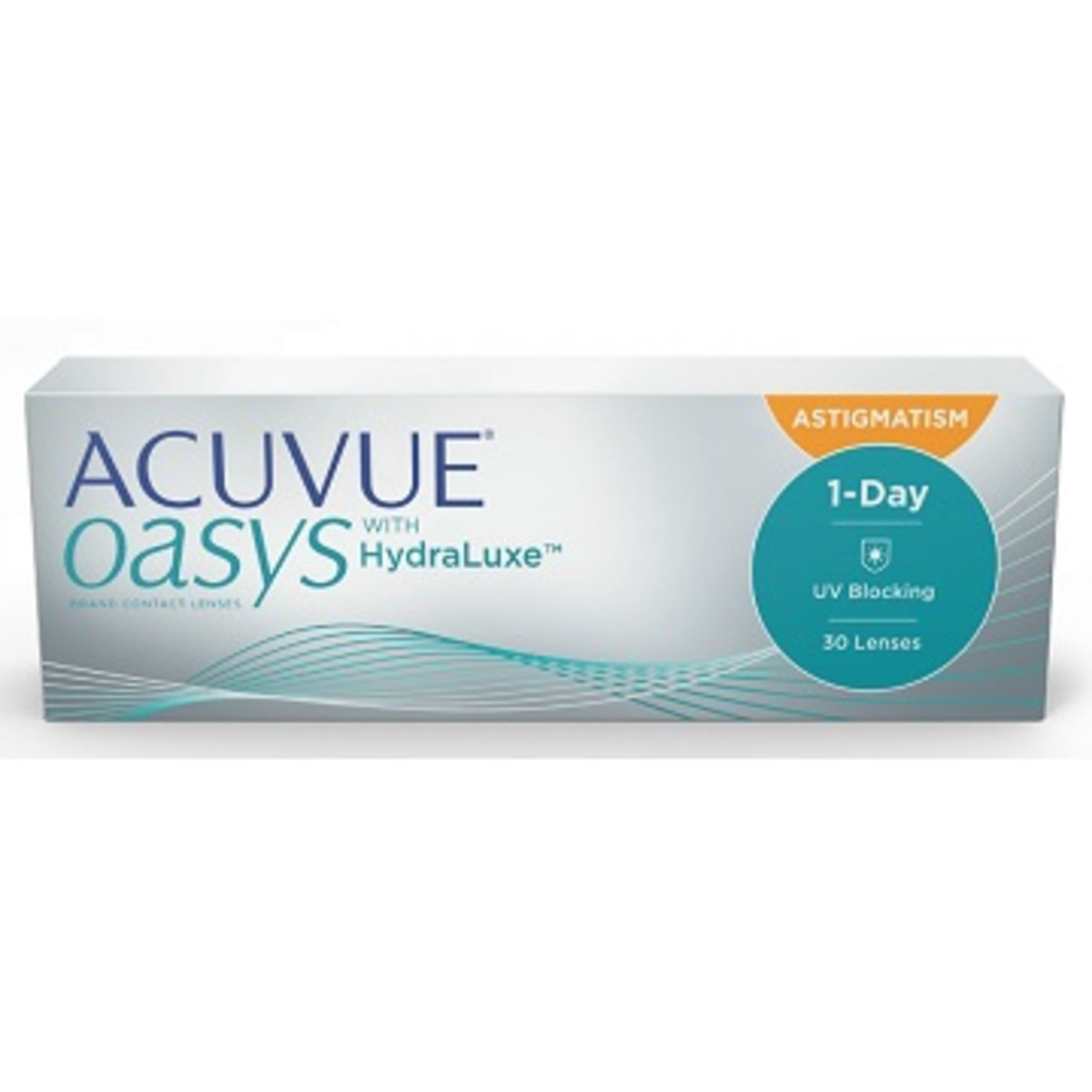 1 Day Acuvue Oasys With HydraLuxe Astigmatism 30L