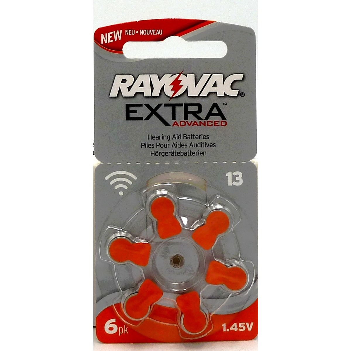1 plaquette Rayovac Extra Advanced 13